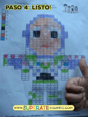 Pixel Toy Story 1 Sumas Y Restas